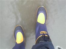 長靴を履いたオッサン、近所一周