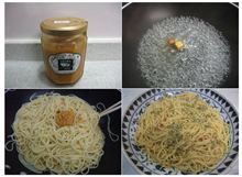 「大地の恵み・雅」を使ったスパゲティ