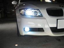 BMW 3シリーズにSMART HID装着です!!奈良県オートサウンドトラップ様。