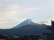 今日の富士山 110531:一人暮らしの日常におこりがちな出来事編
