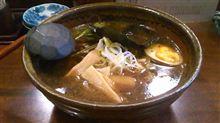らーめん道 麺四郎 /麺四郎 醤油(黒ラーメン)