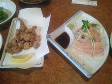大阪で焼き鳥とかを食べてみる