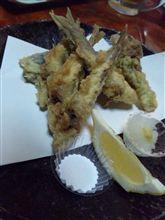 稚魚を天ぷらで!@浜勢3