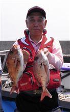 今回は鯛釣りへ (^-^)
