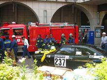 消防訓練に協力しました