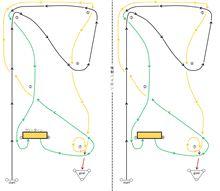 バトルジムカーナ2011 Rd.2のコース図