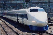100系新幹線電車。