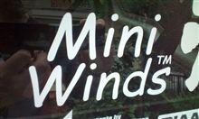 「MiniWinds!」ステッカー貼付け♪