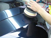 ガラスコーティング アークバリア21 ポリッシャー施工 愛知県豊田市 倉地塗装 KRC