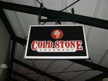 COLD STONEのアイスクリーム