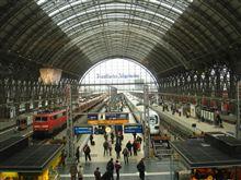 世界の車窓まで Frankfurt Hauptbahnhof