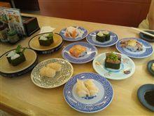 昼食にく○寿司 へ(^-^)v