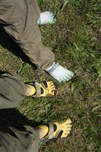 皆さんの靴は何本指ですか(笑