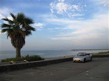 早朝海岸ドライブ