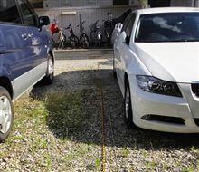 駐車場縄張り