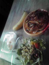 お昼~牛肉と春雨のプルコギ丼~