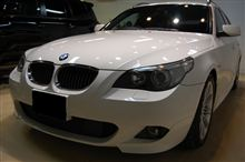 【ラディアス上尾】BMW5シリーズツーリングのガラスコーティングNewリボルト・プロ