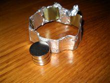 摘出したネオジウム磁石を・・・・更に
