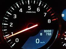 8,000km到達