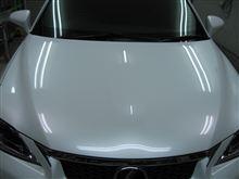 レクサス CT ボディガラスコーティング アークバリア21施工 愛知県豊田市 倉地塗装 KRC