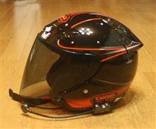 おニューなヘルメット嬉しい♪