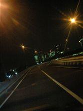 高速が暗いのもビミョ~だなぁ(・ω・)