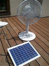 ソーラーシステム作ってみた。