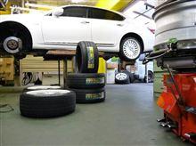 レクサス LS タイヤ交換 VE302  ビューロ