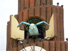 道の駅にある世界最大級のハト時計