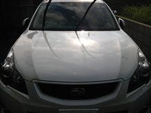 久々の洗車&ブログ