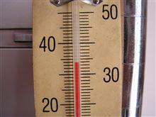 暑かった!