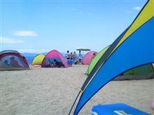 二週連続の海水浴へ 熊本県御立岬海水浴場