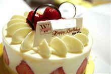 誕生日ケーキ2011