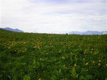 信州の山も、富士のお山も、おまけにニッコウキスゲも!