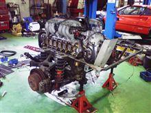フェラーリ12気筒エンジン・・・人間業は凄いと思う(゜.゜)そしてオールドチンクのエンジンも・・・改めて凄いと