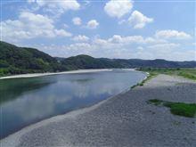 天竜川...
