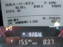 実燃費15Km/L超達成