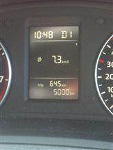 5000km達成!!