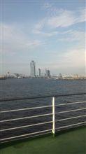 大阪出港(^^)