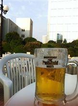 極上の気候の中で夏祭りとビールを楽しむ(2011 0724)