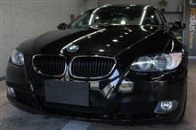 【ラディアス郡山】BMW320iクーペのガラスコーティング