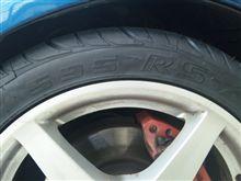 タイヤ交換しました(フェデラル595RS-R)