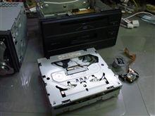 トヨタクラウン純正、CDカセットデッキ、CQ-JS0950A、55828。