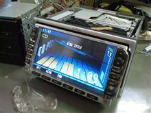 ホンダ純正、DVDナビ、VXD-032Ci、QX-6550H-A。