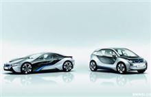 BMW i8 Concept & i3 Concept