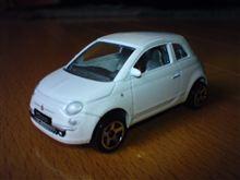 カバヤ菓子付きミニカー フィアット500