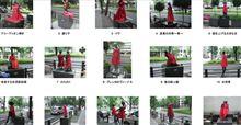 大阪御堂筋の彫刻に赤い服の騒ぎ。