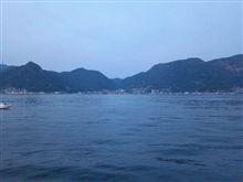呉ポートピアパーク沖