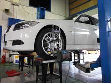 トータルアライメント調整....BMW E90..KONI FSD..乗り心地快適