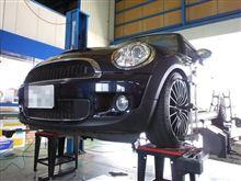 トータルアライメント調整...BMW MINI...ザックスRS-1..かなり気に入ってます。